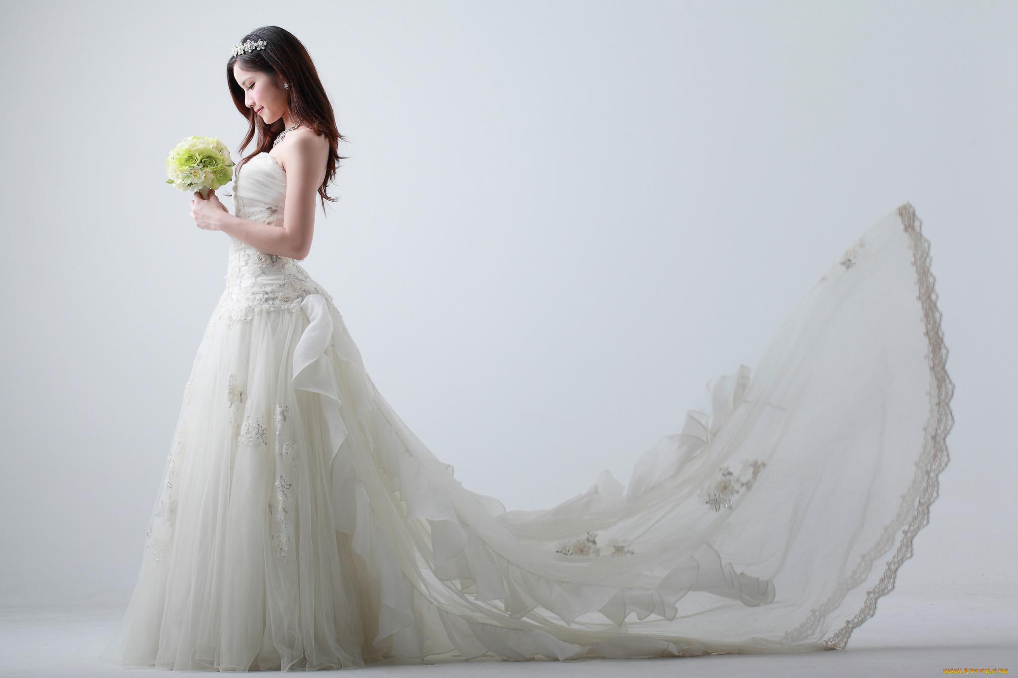 С азиатскими невестами 1 фотография